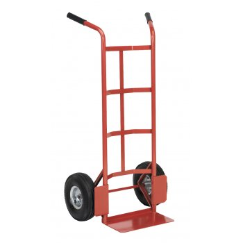 Sealey Sack Truck with Pneumatic Tyres 200kg Capacity Model No-CST986