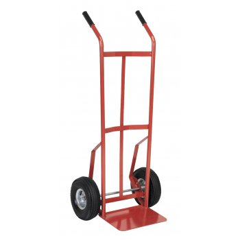Sealey Sack Truck with Pneumatic Tyres 200kg Capacity Model No-CST987