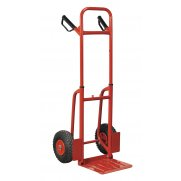Sealey Sack Truck with Pneumatic Tyres 200kg Folding Model No-CST801