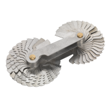 Sealey Screw Pitch Gauge Set 52pc BSW/Metric Model No-AK73SPG