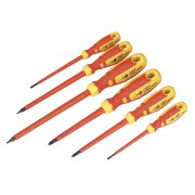 Sealey Screwdriver Set 6pc VDE/TUV/GS Approved GripMAX Model No-AK6122