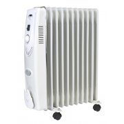 Sealey Oil Filled Radiator 2500W/230V 11 Element Model No-RD2500