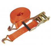Sealey Ratchet Tie Down 50mm x 6mtr Polyester Webbing 3000kg Load Test Model No-TD3006J