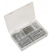 Sealey Split Pin Assortment 230pc Large Sizes Imperial & Metric Model No-. AB003SP