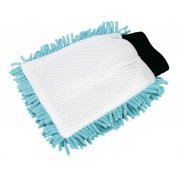 Sealey Shaggy Microfibre Mitt 2-in-1 Model No-CC77