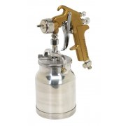 Sealey Spray Gun Suction Feed Siegen Brand 1.7mm Set-Up Model No-S775