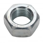 Steel Nut M20 Zinc DIN 934 Pack of 10 : Model No.SN20