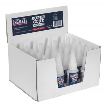 Sealey Super Glue Rapid Set 20g Pack of 20 : Model No.SCS304