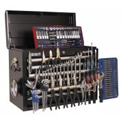 Sealey Topchest 10 Drawer with Ball Bearing Runners - Black & 138pc Tool Kit Model No-AP33109BCOMBO