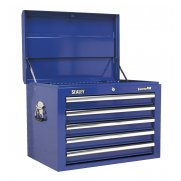 Sealey Topchest 5 Drawer with Ball Bearing Runners - Blue Model No-AP26059TC