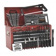 Sealey Topchest 6 Drawer with Ball Bearing Runners - Red/Grey & 97pc Tool Kit Model No-AP2201BBCOMBO