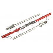 Sealey Tow Pole 2000kg Rolling Load Capacity with Shock Spring TUV/GS Model No-TPK2522