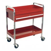 Sealey Trolley 2-Level Heavy-Duty with Lockable Drawer Model No-CX101D