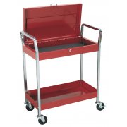 Sealey Trolley 2-Level Heavy-Duty with Lockable Top Model No-CX104