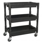 Sealey Trolley 3-Level Composite Heavy-Duty Model No- CX205