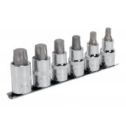 "Sealey TRX-P Socket Bit Set 6pc 1/2""Sq Drive 55mm Model No-AK6224"