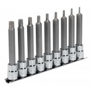 "Sealey TRX-P Socket Bit Set 9pc 3/8""Sq Drive 100mm Model No-AK6223"
