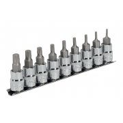 "Sealey TRX-P Socket Bit Set 9pc 3/8""Sq Drive 50mm Model No-AK6222"