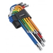 TRX-Star Key Set 9pc Colour-Coded Long Model No.-22043