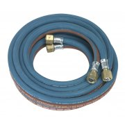 Sealey Twin Rubber Hose Set Oxyacetylene 4.5mtr Model No-SGA5