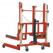 Sealey Wheel Removal Trolley 500kg Adjustable Width Model No-W508T
