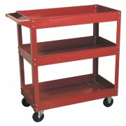 Sealey Workshop Trolley 3-Level Heavy-Duty Model No-CX108
