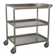Workshop Trolley 3-Level Stainless Steel Model No.-21836