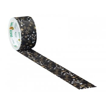 Shurtape Duck Tape¸ 48mm x 9.1m Metallic Stars -No. 285223