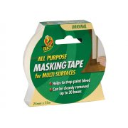 Shurtape Duck???? Tape All Purpose Masking Tape 25mm x 25m