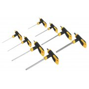 Sealey T-Handle Ball-End Hex Key Set 8pc Model No-. S01069