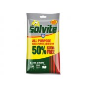 Solvite All Purpose Wallpaper Paste Sachet 10 Roll + 50% Free