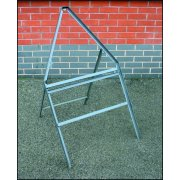 600mm tri with Space for Supp Plate Road Sign Stanchion - Empty
