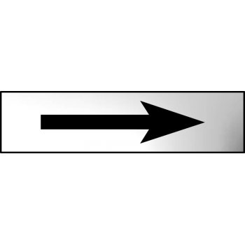 Spectrum Industrial Arrow (graphic) - CHR (200 x 50mm)