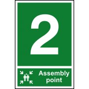 Assembly Point 2 - PVC (200 x 300mm)
