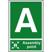 Assembly Point A - PVC (200 x 300mm)