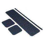 Black - Non Slip Floor Treads (19 x 609mm Pack of 50)