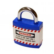 Blue Jacket Safety Padlocks (each)