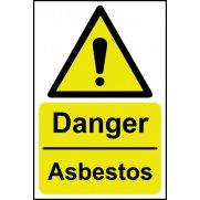Danger Asbestos - SAV (400 x 600mm)