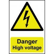 Danger High voltage - PVC (200 x 300mm)