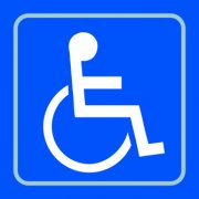 Disabled graphic - Taktyle (150 x 150mm)