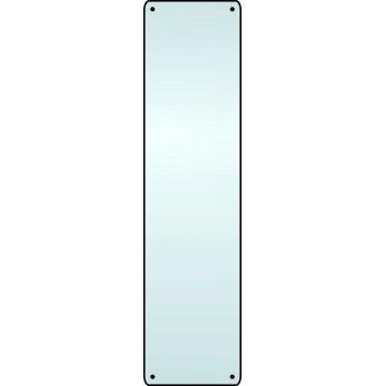 Spectrum Industrial Finger plate (radiused corners) - SSS (75 x 300mm)