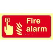 Fire alarm - TaktylePh (300 x 150mm)