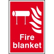 Fire blanket - PVC (200 x 300mm)