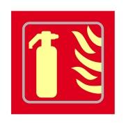 Fire extinguisher graphic - TaktylePh (150 x 150mm)