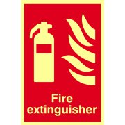 Fire extinguisher PHO - (200 x 300mm)