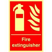 Fire extinguisher - Photolum. (200 x 300mm)