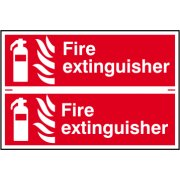 Fire extinguisher - PVC (300 x 200mm)