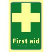 First aid - TaktylePh (150 x 225mm)