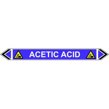 Spectrum Industrial Flow Marker - Acetic Acid (Violet - 5 pack)