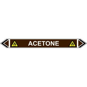 Spectrum Industrial Flow Marker - Acetone (Brown - 5 Pack)